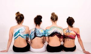 SHOOTING & BODYPAINTING